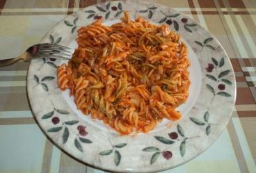 Espirales con tomate y melva - Recetas Usisa