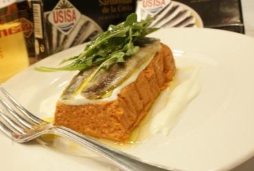 Pastel de verduras escabiladas con sardinas de la costa - Recetas Usisa