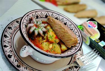 Suquet de melva y pulpito - Recetas Usisa