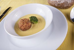 Albóndigas de melva y azafrán - Recetas Usisa