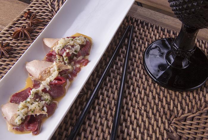 Carpaccio de ternera con melva - Recetas Usisa