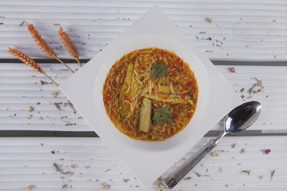 Sopa de caballa - Recetas Usisa