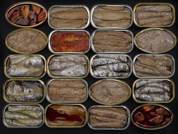 valor nutricional de las conservas de pescado